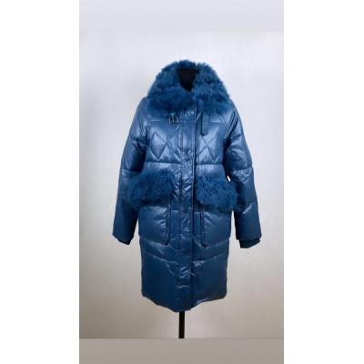 Пальто Vivilona натуральной козой
