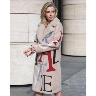 Пальто из 100% шерсть