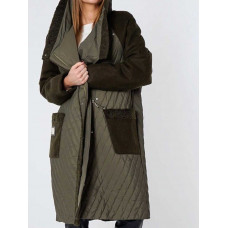 пальто косуха демисезонная